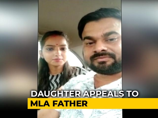 "Video : ""Papa, You Sent Goons"": BJP Lawmaker's Daughter Alleges Threat In Video"