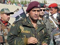 MS Dhoni's Request To Train With Army Regiment Approved: Report