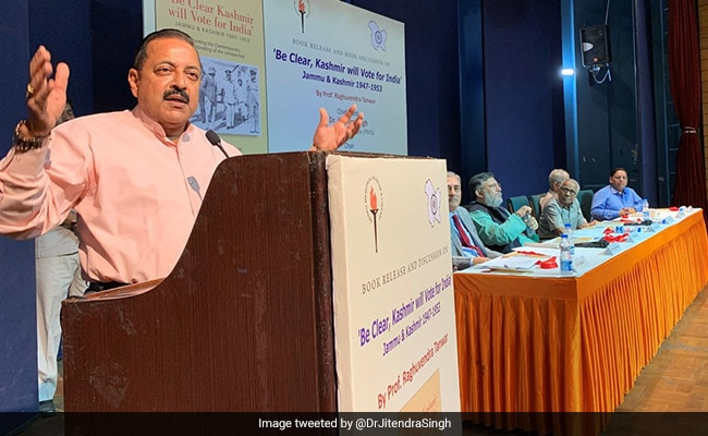 India's Partition A 'Miscarriage' Of History: Jitendra Singh