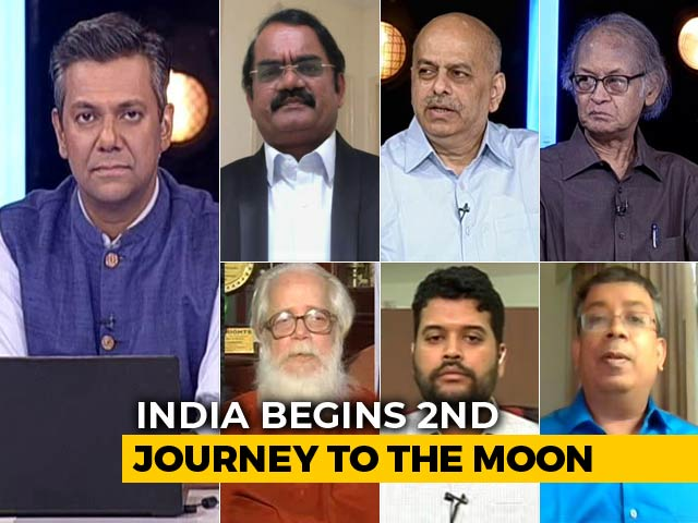 Video : Chandrayaan 2: India's Historic Moon Mission Lifts Off