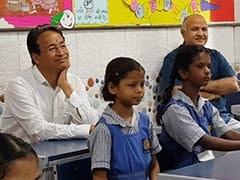 हैप्पीनेस क्लास में 'मिस्टर वांगड़ू', बोले- दिल्ली के सरकारी स्कूलों के बारे में काफी सुना था, लेकिन...