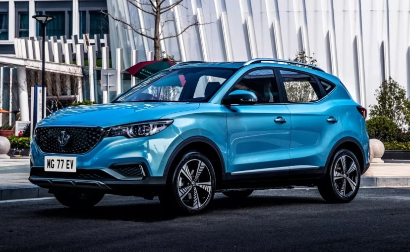 The MG ZS EV is priced between 21,495-23,495 Pounds (around Rs. 18.36-20.07 lakh) in the UK