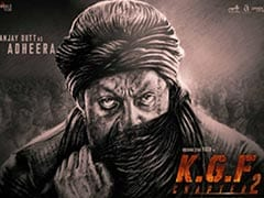 First Look: Sanjay Dutt As Menacing Adheera In Yash's <I>KGF Chapter 2</i>. Best Birthday Treat Ever