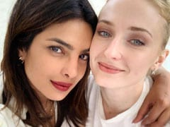 Sophie Turner Has An Emmy Nod And Priyanka Chopra Couldn't Be Prouder