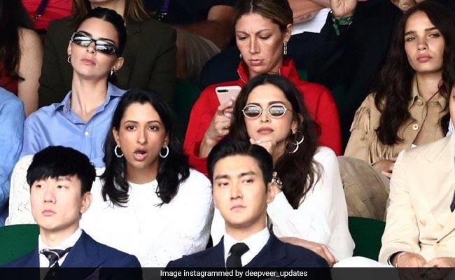 Deepika Padukone, Dressed In Wimbledon White, Watched Novak Djokovic Vs Roger Federer Thriller. See Pics
