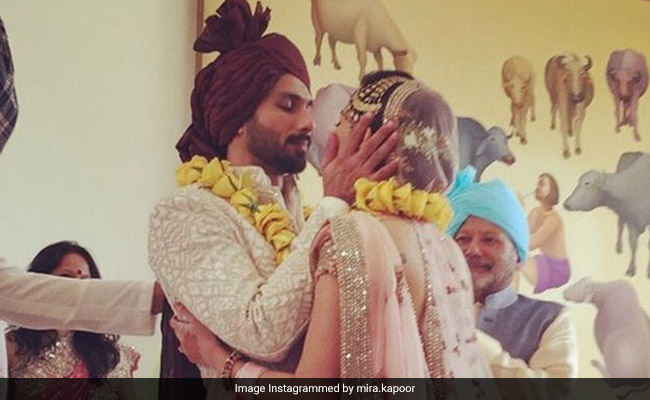 Mira Rajput Wishes Husband Shahid On Wedding Anniversary With An Adorable Post: 'You Make My World And Me Go Round'