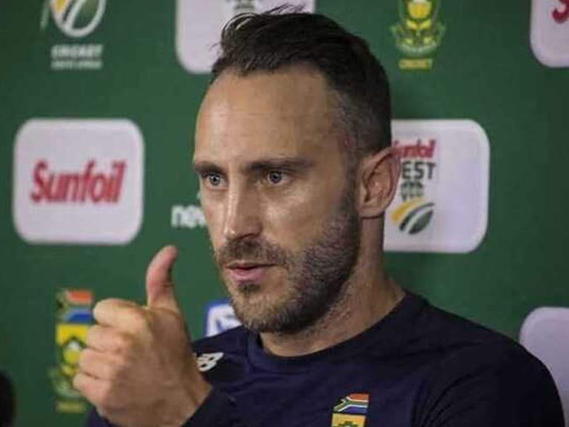 Faf Du Plessis to remain in charges of South Africa Test team against India