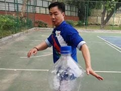 Sports Minister Kiren Rijiju Nails #BottleCapChallenge, Internet Cheers