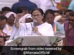 "Give ""Promised Rs 15 Lakh Black Money"" To People: Mamata Banerjee To BJP"