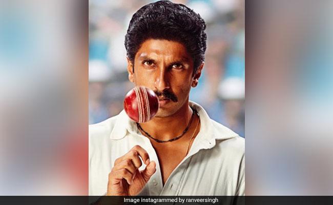 'Ranveer's look as Kapil Dev from '83'