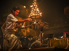 Varanasi Ganga Aarti To Be Performed At 3 pm Today Due To Lunar Eclipse