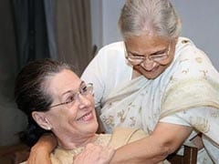 """Sheila Dikshit Guided Me Like Older Sister"": Sonia Gandhi"