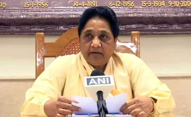 Mayawati Demands Justice From BJP For UP's Sonbhadra Clash Victims