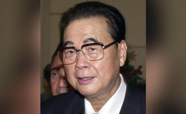 Former Chinese Premier Li Peng Dies At 90: Report