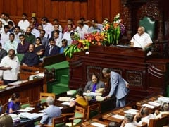 Chaos In Karnataka Assembly As Speaker Refuses More Time For Trust Vote