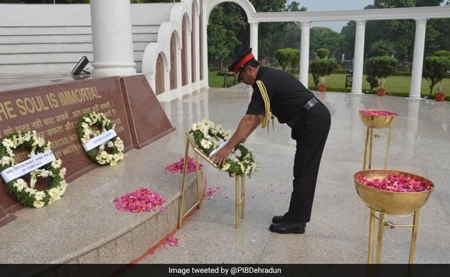 Indian Military Academy Celebrates 'Kargil Diwas'