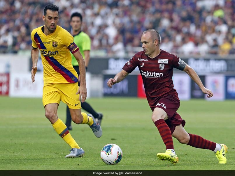 Football: FC Barcelona beats Vissel Kobe 2-0