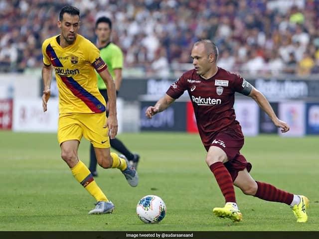 Football: FC Barcelona beats Vissel Kobe 2-0