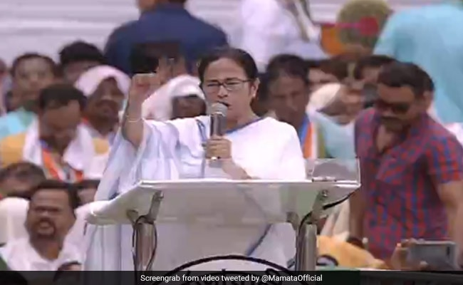 Give 'Promised Rs 15 Lakh Black Money' To People: Mamata Banerjee To BJP