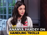 Video : Ananya Panday On Social Media Bullying And More