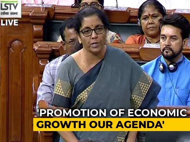Video : Finance Minister Sitharaman Replies To Debate On Budget In Parliament