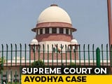 Video : Ayodhya Mediation To Go On Till July 31; Next Top Court Hearing On Aug 2