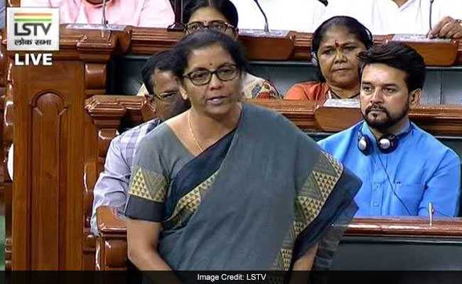 Government Committed To Path Of Fiscal Consolidation: Nirmala Sitharaman