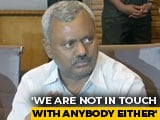 "Video : ""Not Taking Back Resignations"", Says Rebel Karnataka Leader ST Somashekar"