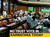 Video : No Karnataka Trust Vote Today, Assembly Sleepover For BJP Lawmakers