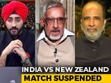 Video : India vs NZ: Semi-Final Goes Into Reserve Day, As Rain Affects Big Clash