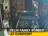 Video : Delhi Couple Robbed At Gunpoint In Shocking Video, Children Were In Car