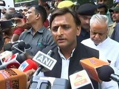 """BJP Very <i>Sanskaari</i>,"" Akhilesh Yadav Sneers Amid Row Over Unnao Teen Case"