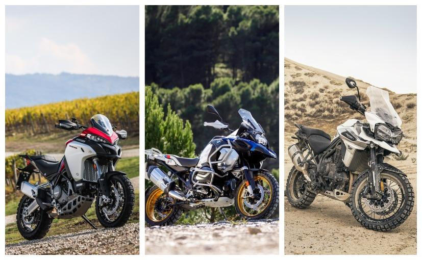 Ducati Multistrada 1260 Enduro vs Rivals: Specifications Comparison