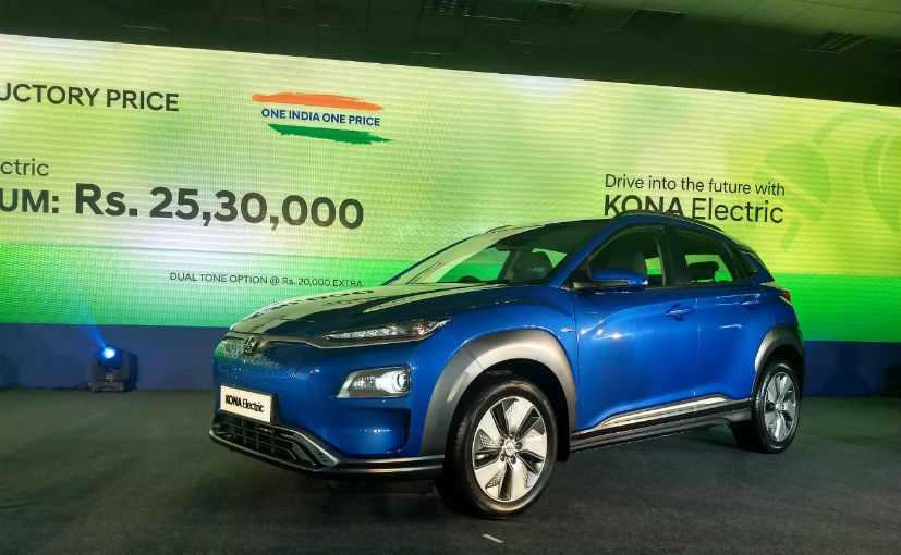 2019 Hyundai Kona Electric SUV: India gets the 39.2 kWh version of the Hyundai Kona Electric.