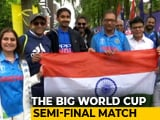Video : Indian Fans Throng Old Trafford For Big Semi-Final