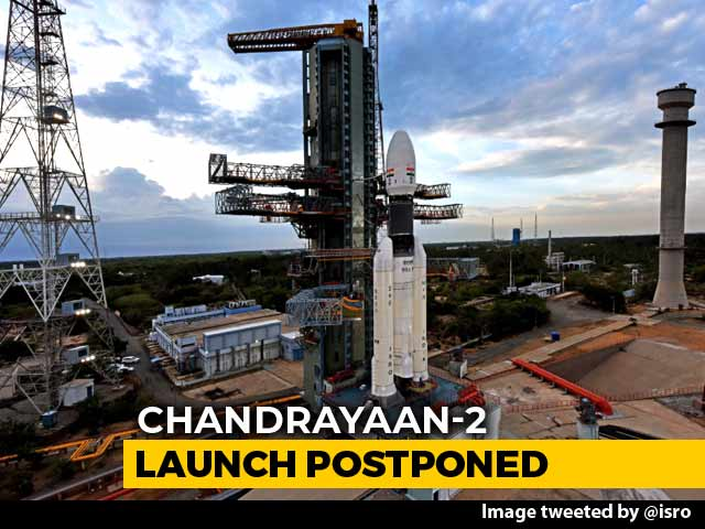 Video : What Happened At 2.51 am Monday When Chandrayaan 2 Launch Was Called Off