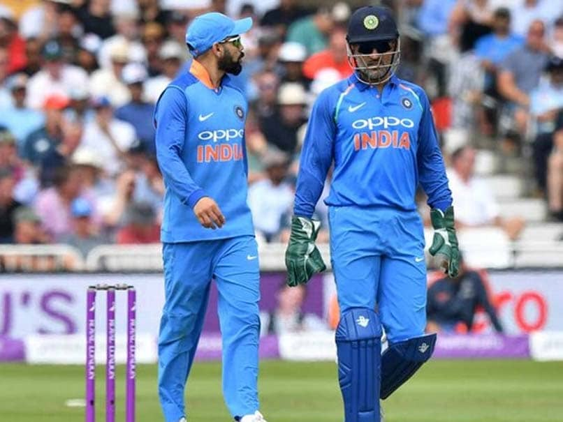 Focus On MS Dhonis Future, Virat Kohlis Availability Ahead Of Team Selection For West Indies Tour