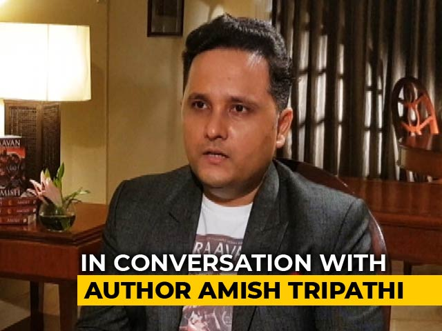 "Video : ""Modern Caste System Is Disgusting Corruption"": Author Amish Tripathi To NDTV"