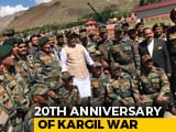 Video : Rajnath Singh Visits Kargil, Will Inaugurate 2 Mountain Bridges In J&K
