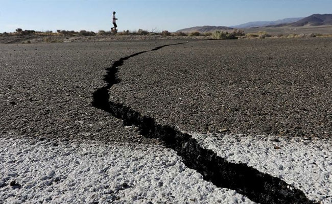 California Struck By 7.1 Earthquake, Home Shifted, Roads Cracked