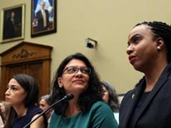 """Agenda Of White Nationalists"": Congresswomen Slam Trump's Racist Attack"