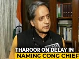 "Video : ""Lack Of Clarity At Top Hurting Congress"", Says Shashi Tharoor"