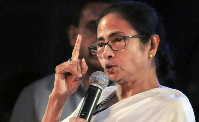 "Image result for ""If We React In Kind..."" Mamata Banerjee Attacks BJP At Trinamool Rally"