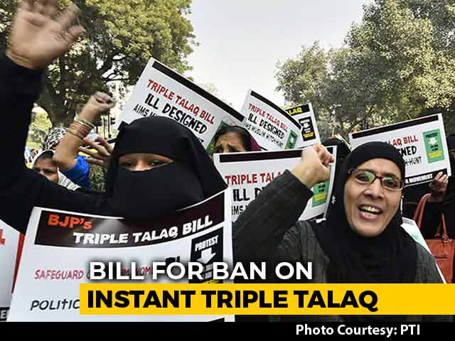 Video : Triple Talaq Bill To Be Tabled In Lok Sabha Today