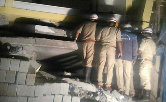 Two Buildings Collapse In Bengaluru, 4 Killed; Rescue Operations On