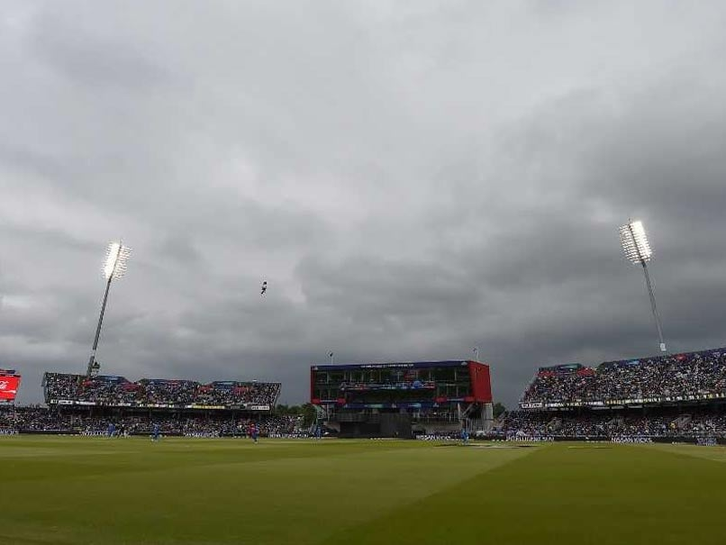 World Cup 2019 Semi Final, India vs New Zealand: Rain Interrupts Play At Old Trafford