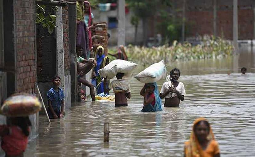 बिहार में बाढ़ से 123 लोगों की मौत, 81 लाख से ज्यादा लोग प्रभावित