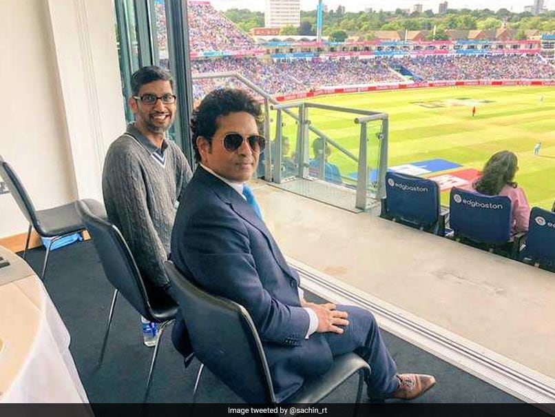 Sundar Pichai Came Up With A Smart Reply To Sachin Tendulkar