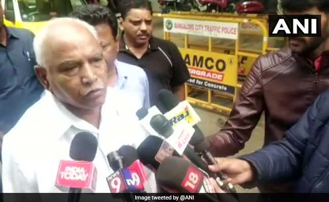 Amid Political Crisis, Karnataka BJP Lawmakers To Protest Tomorrow