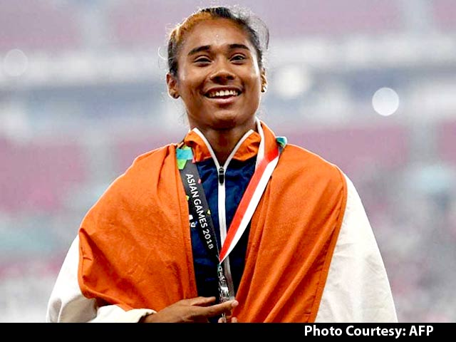 Hima Das Bags Three Gold Medals In Two Weeks
